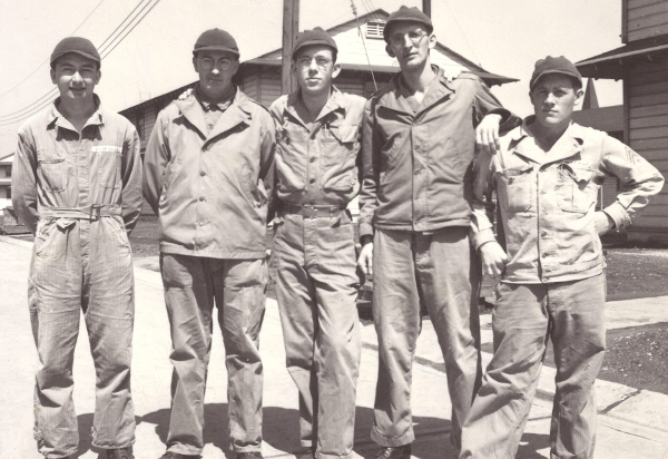 Army Air Force personnel at Chanute Field, IL in 1944.