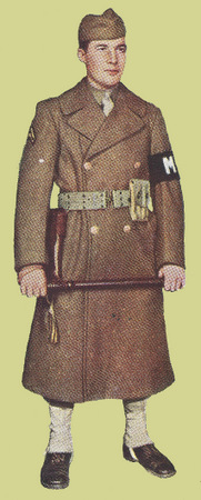 Field Uniform with Winter Overcoat