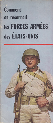 Front Cover of Uniform Pamphlet