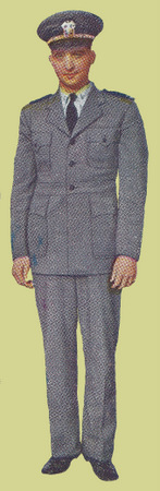 Officer's Grey Work Uniform