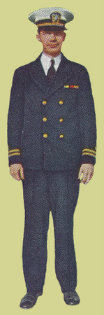 Officer's Dress Blue Uniform