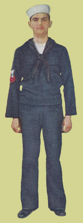 Undress Blue Service Uniform