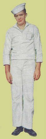 Undress White Service Uniform