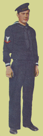 Dress Blue Service Uniform