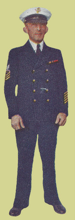 CPO Dress Blue Uniform